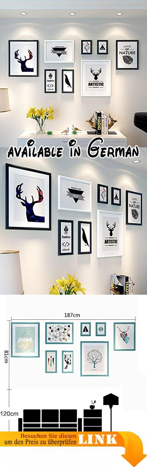 Foto Wandrahmen Holz 8 Teile / sätze Collage Bilderrahmen Set ...