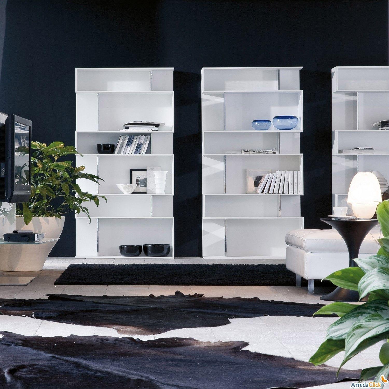 Modern bookcase bookcases - Mobili per monolocale ...