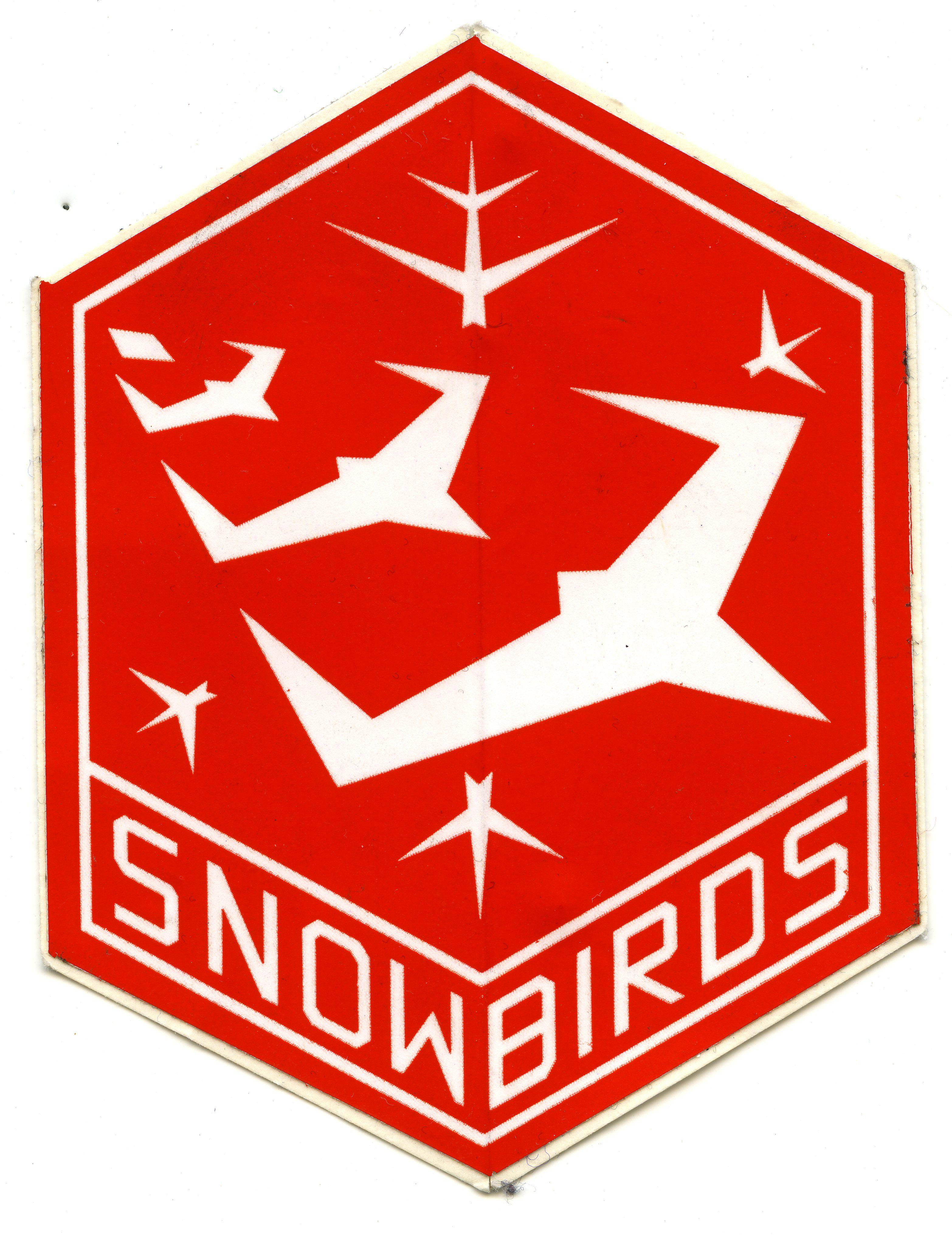 Snowbirds Sticker Insignia, Air show, Air force