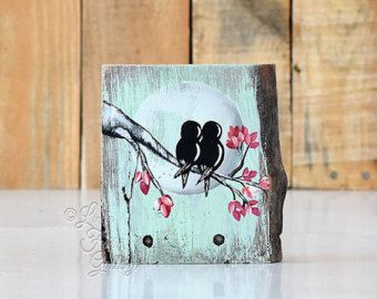 Wedding Gift for Couple Rustic Wood Signs by LindaFehlenGallery