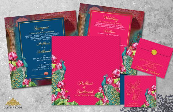 Portfolio of Glitterkode Wedding couples, Wedding card and Weddings - invitation card kolkata