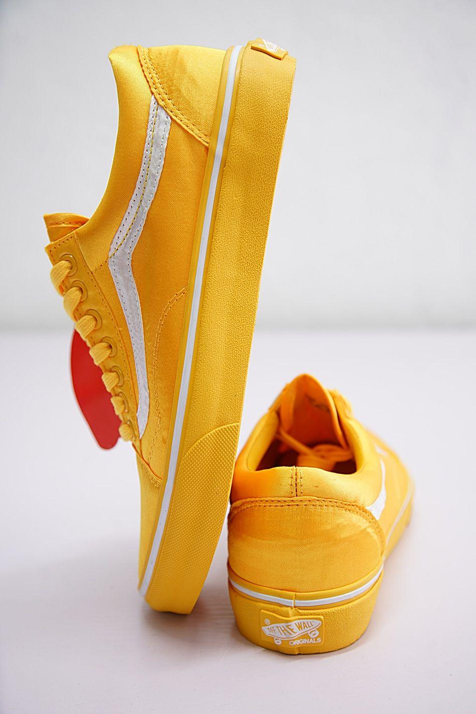 best sneakers 896e6 9347f VANS OLD SKOOL OPENING CEREMONY SATIN LIGHT YELLOW SKATEBOARDING VNOA36C9NX6