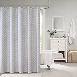 Couture Tiles Fabric Shower Curtain 70 Inch X 72 Inch The Home