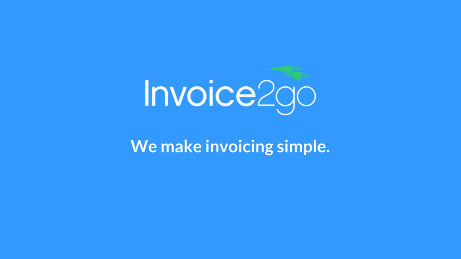 custom invoices and fast payment try invoice2go free today