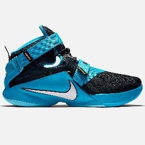 quality design d4960 acfd4 Nike Zoom Lebron Soldier 9 (Court Purple/Black/Blue Lagoon ...