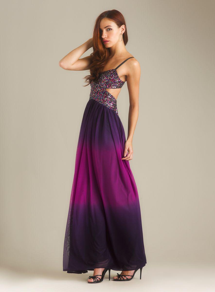 Sleeveless Cutout Gown   Prom   Pinterest