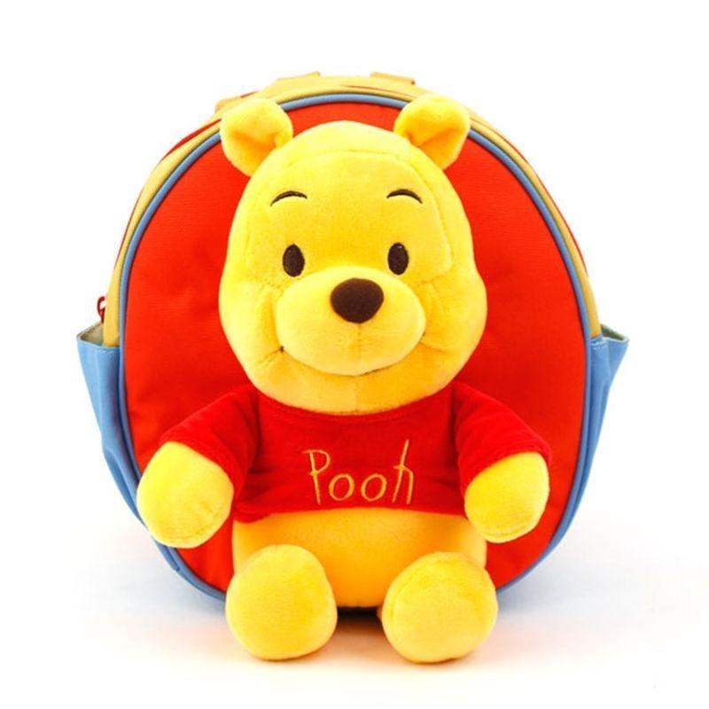 57571e34316e Disney Pooh Joyful Safety Harness Backpack Toddler Kids Baby Bag Licensed   Disney