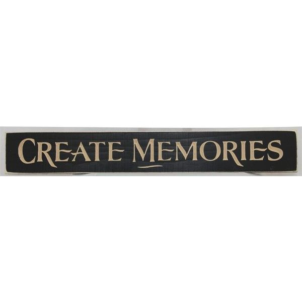 American Made Create Memories Inspirational Print ($12) ❤ Liked On Polyvore  Featuring Home, Home Decor, Wall Art, Red Black Wall Art, Red Heart  Picture, ...