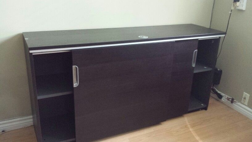 Ikea Galant Filing cabinet with sliding doors assembled in ...