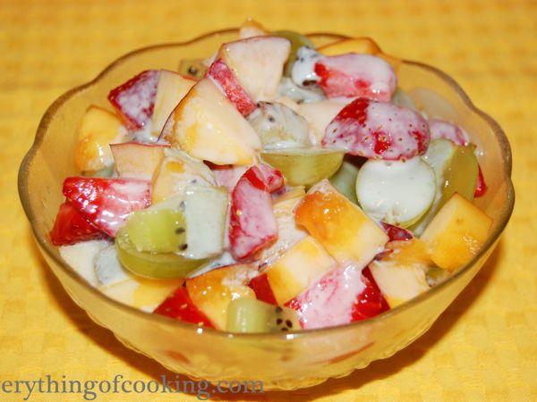 Summer fruit dessert, Recipe by Olga_Ch - Petitchef