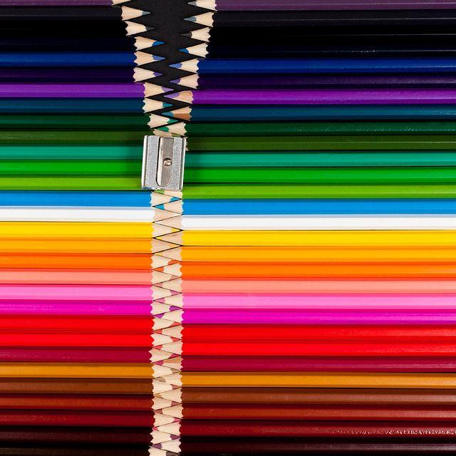 Cremallera de colores