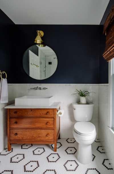 23 Really Cool Hexagon Shape Tile Ideas In 2021 Bathroom Trends Trendy Bathroom Amazing Bathrooms