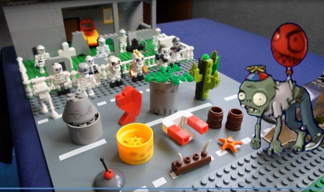 Лего Зомби Самоделки Картинки