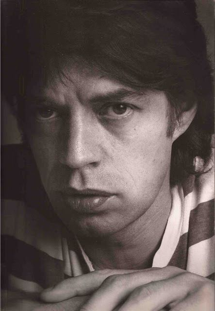 Mick Jagger. photo by Annie Leibovitz, New York City, 1980.