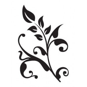 simple flower stencil | Hawaiian Flower Hibiscus Stencil ...