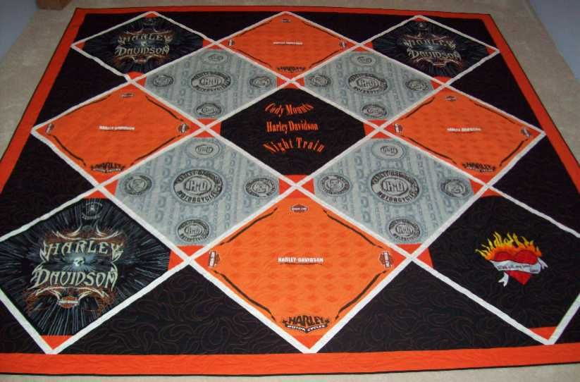 Harley Davidson Quilts On Pinterest Piano Keys Quilting