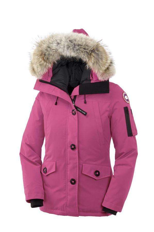 canada goose montebello parka in summit pink my jacket of choice rh pinterest com