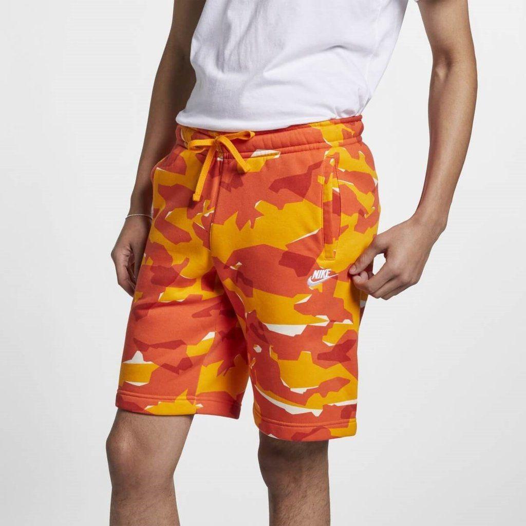 Mens nike woven camo shorts large ar2922833 camo