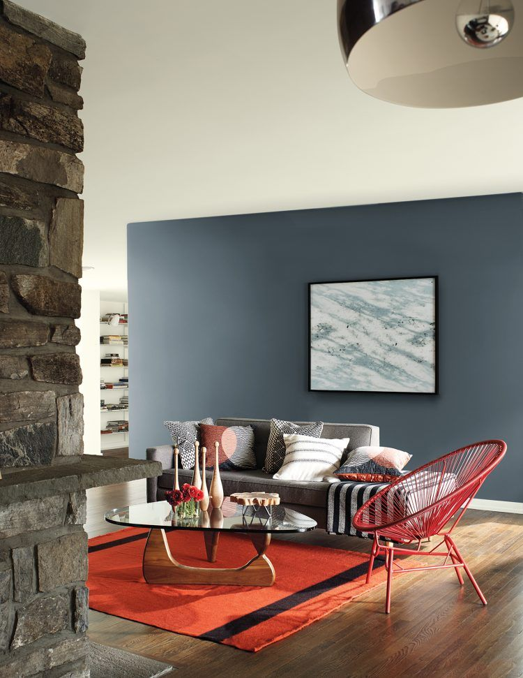 Living Room Family Benjamin Moore Wolf Gray Paint Color 2127 40 Trends 2018