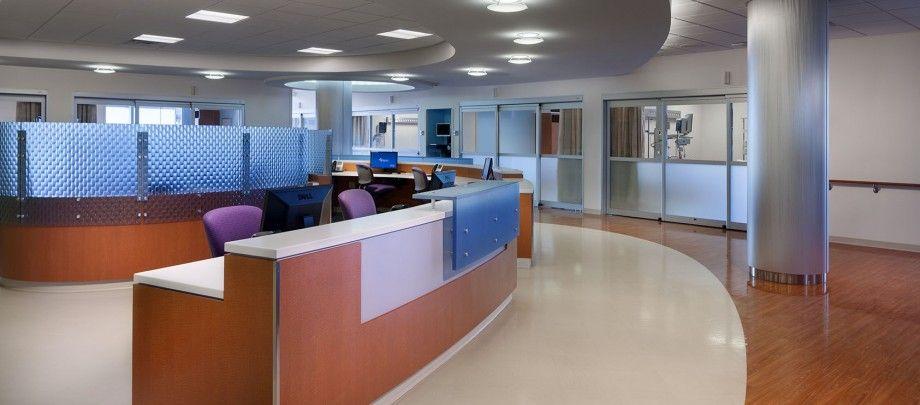 ICU nurse station Next Hospital design, Nurses station