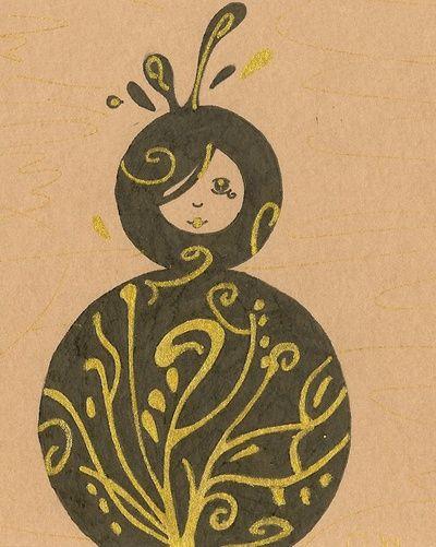Blog de neli :Illustrations et compagnie ..., Poupée Russe ..