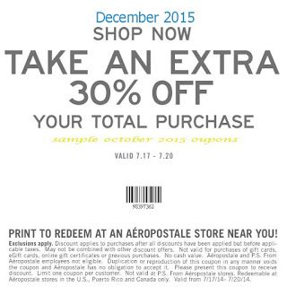 picture relating to Torrid Printable Coupons identify Printable Coupon codes: Aeropostale Discount codes Cost-free Printable