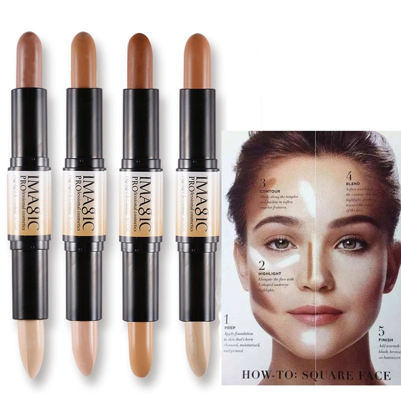 Universe Of Goods Buy Shimmer Shine Highlighter Makeup Foundation Illuminator Stick Bronzer Contour Pen 3d Fac Highlighter Makeup Bronzer Contour Face Cream