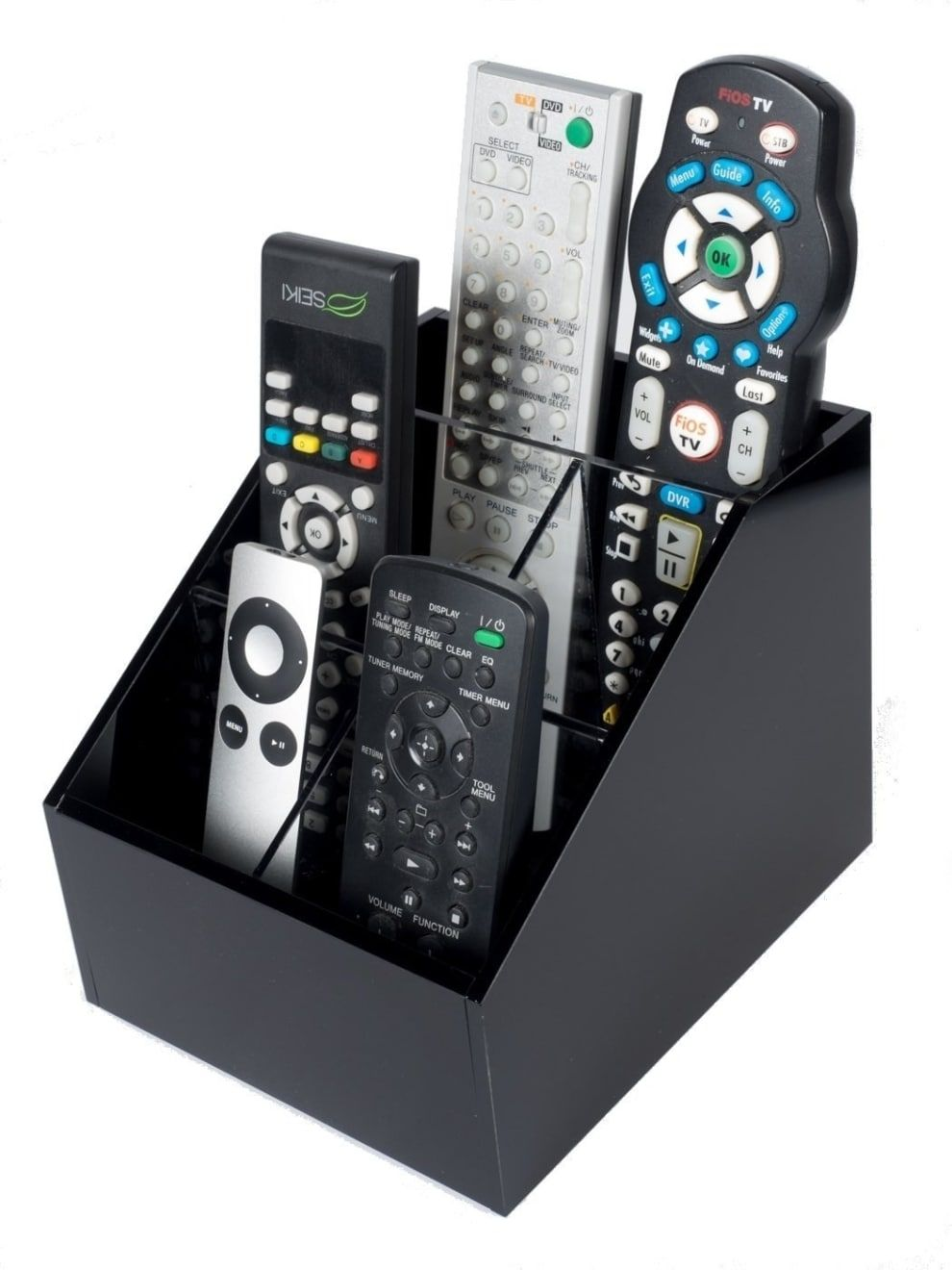 44 Ridiculously Clever Storage Ideas For Your Whole Home Remote