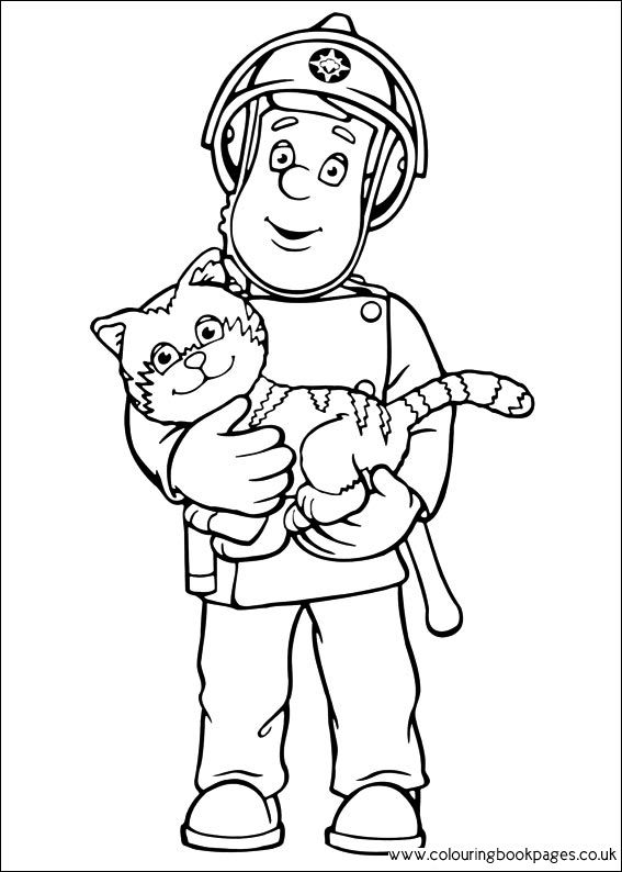 Stay At Home Mom Plans Color Fireman Sam Fireman Sam Coloring Books Fireman