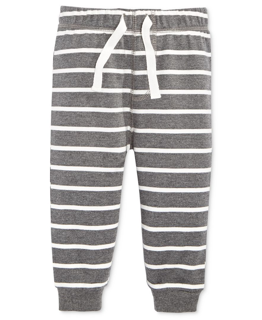 799f687f6c42 First Impressions Baby Boys  Striped Jogger Pants