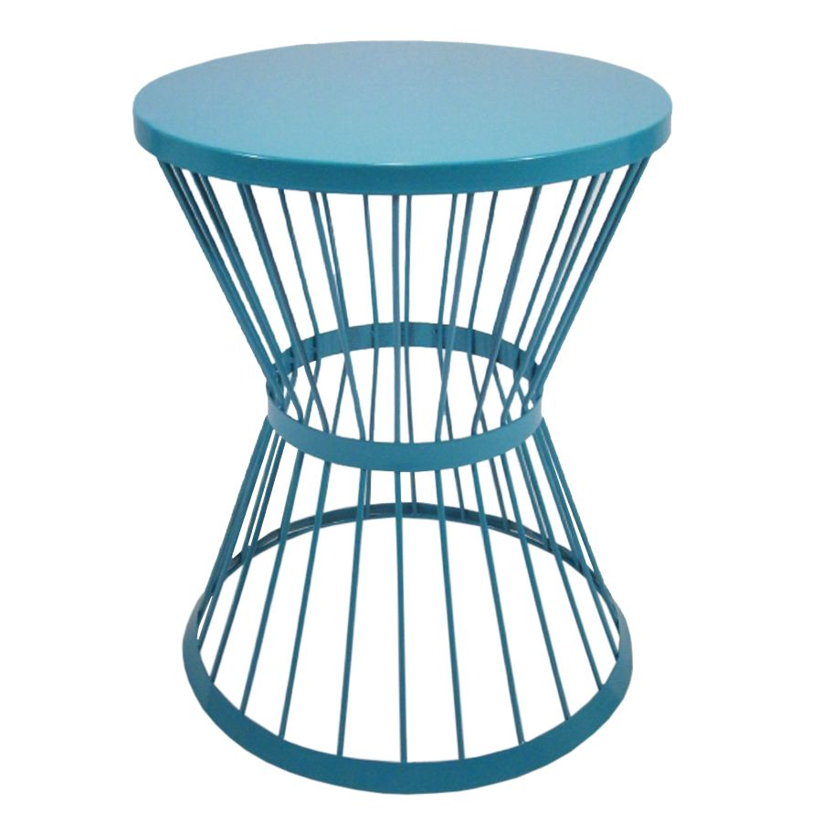 Blue Powder Coated Outdoor Furniture