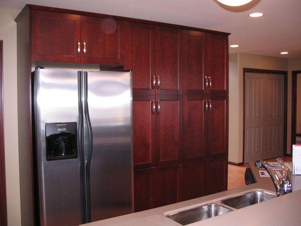 wall pantry cabinet ideas | pantry wall 25 Fabulous Pantry ...