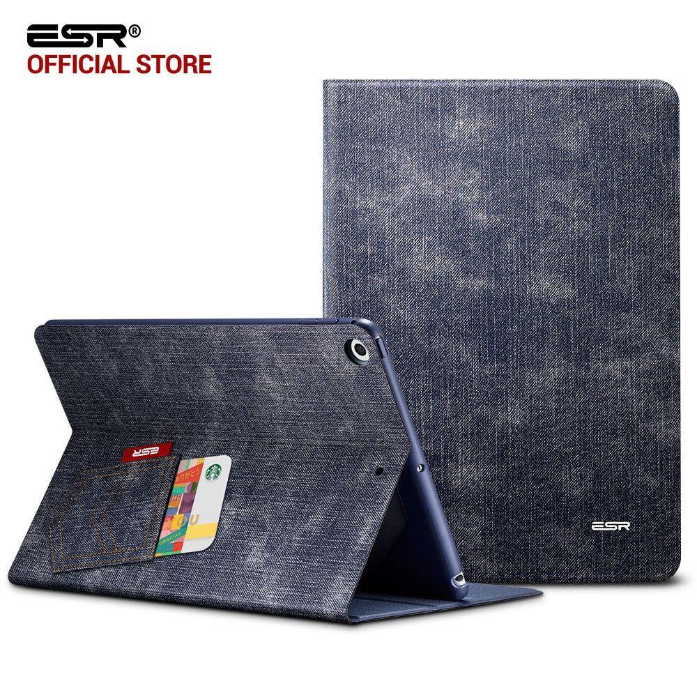 ec55cdbeb1465 Case for iPad 9.7 2017, ESR Simplicity PU Leather Smart Cover Folio Case  Auto Wake