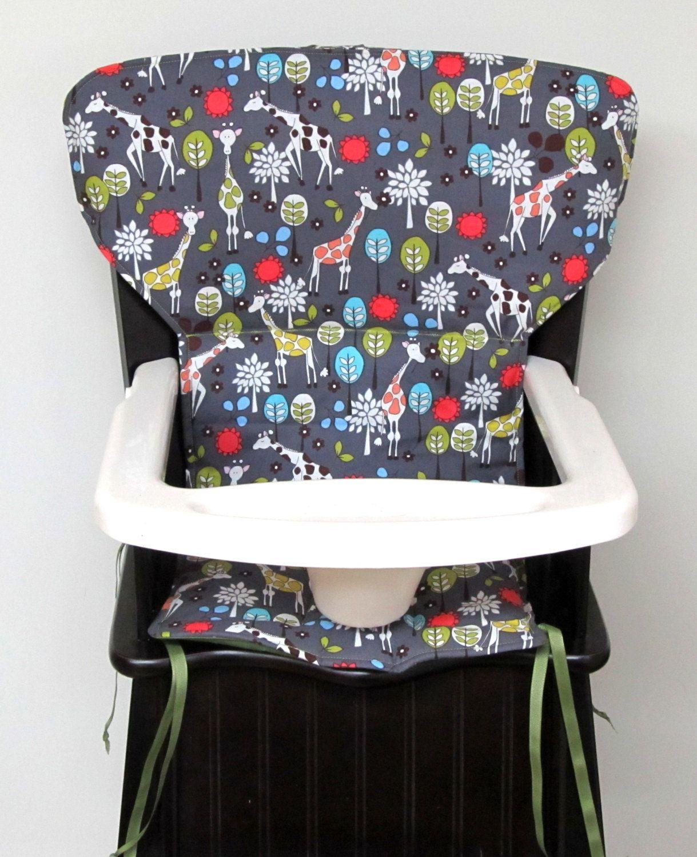 eddie bauer Newport replacement high chair pad, safety 1st