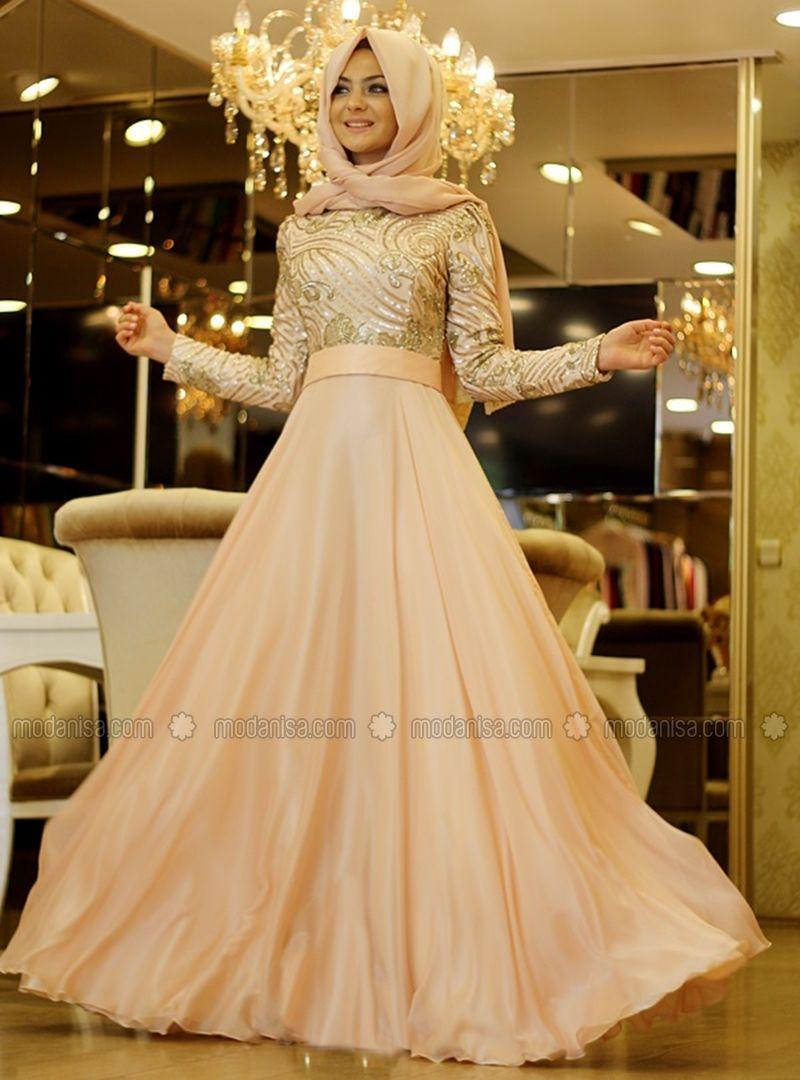 Meyra - Gold - Pınar Şems | Hijab Mode | Pinterest | Brautjungfern ...