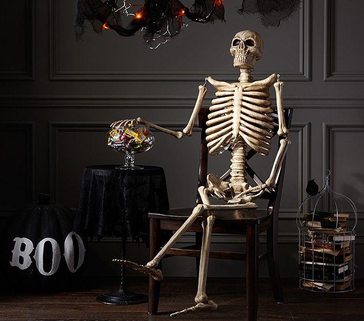 Mr Bones Decor Fall Halloween Decor Halloween Door