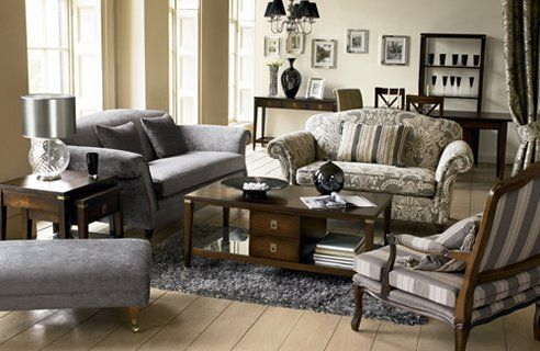 Country Style Living Room Furniture   Living Room A