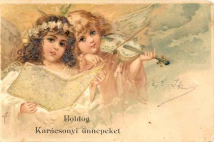 58eab3add881 Kittike oldala - G-Portál | Старинные открытки | Holiday postcards ...