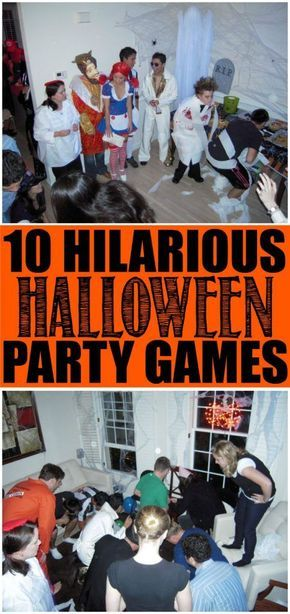 10 fun Halloween party games that are perfect for kids, for teens - fun halloween ideas