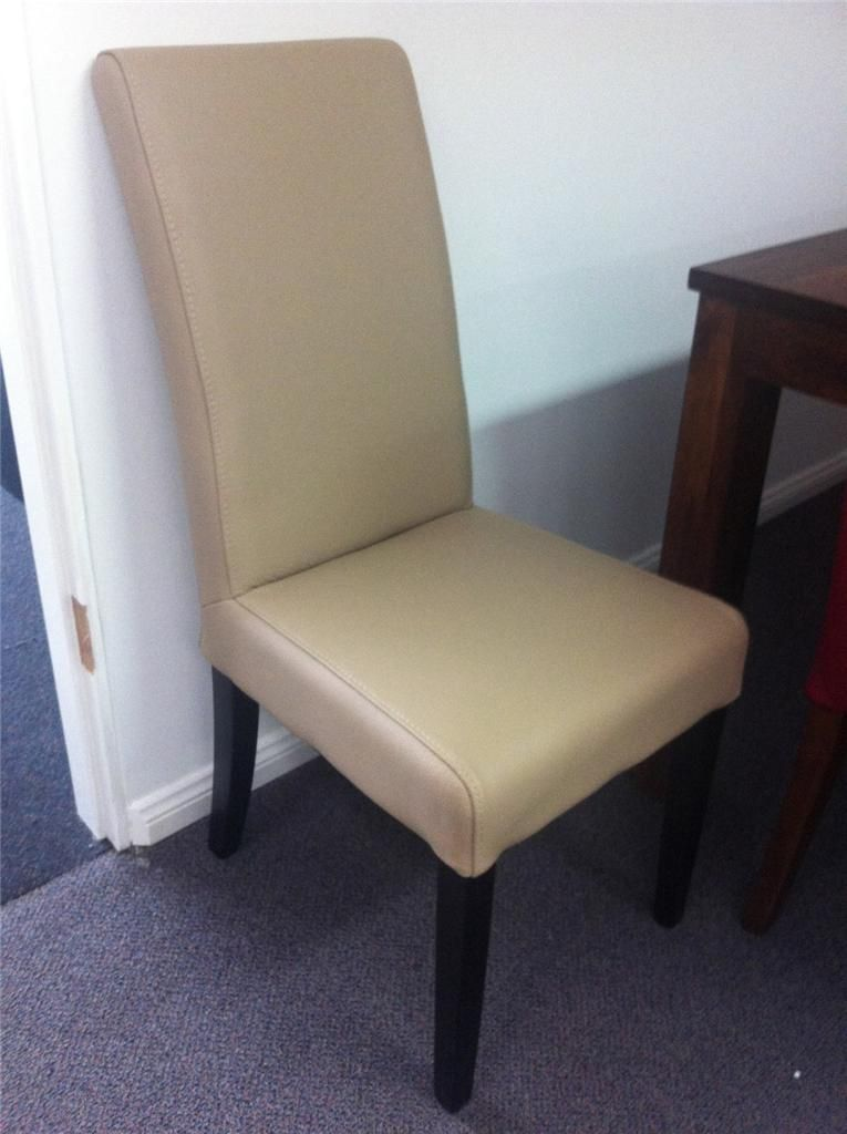 Genuine Leather Dining Chairs Esszimmerstuhle Stuhle Zimmer