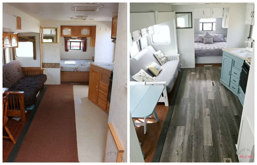 Easy RV Makeover With Instructions To Remodel RV Interior, Paint RV Walls,  Paint 2