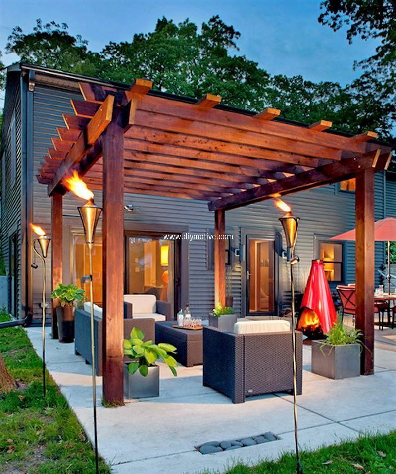 Superieur Modern Garden Pergola