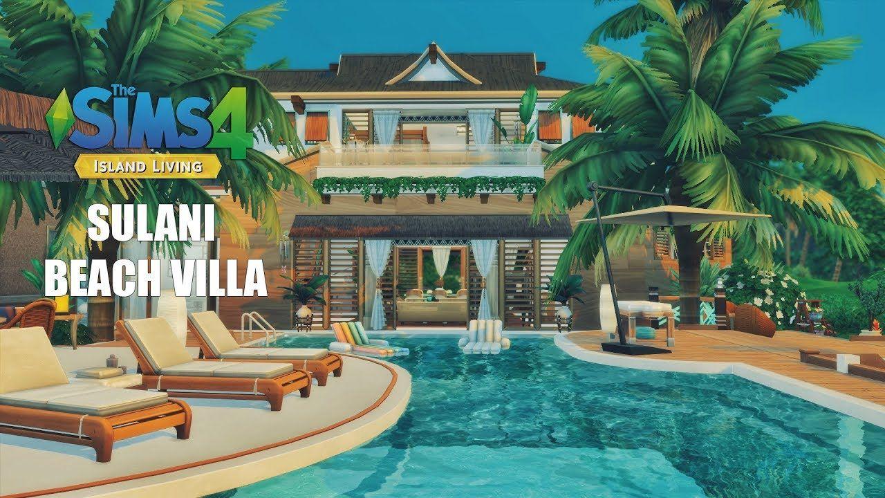 Sulani Beach Villa Island Living Speed Build THE