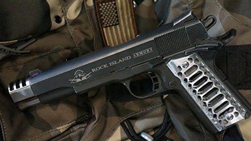 1911  45acp Full Size Punisher Muzzle Brake and Brushed
