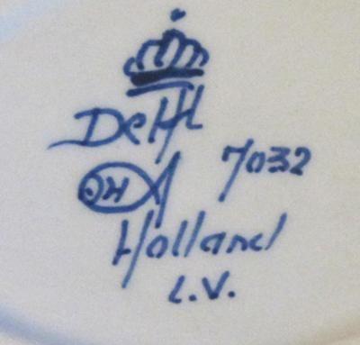 royal delft markings | Delft Pottery Marks Identification