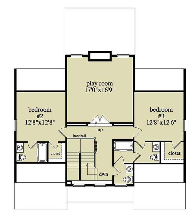 Plan 29837RL: Cozy Vacation Home Plan With Bonus