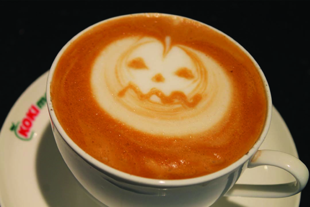 "ART COFFEE ""HALLOWEN PUMKIN"""