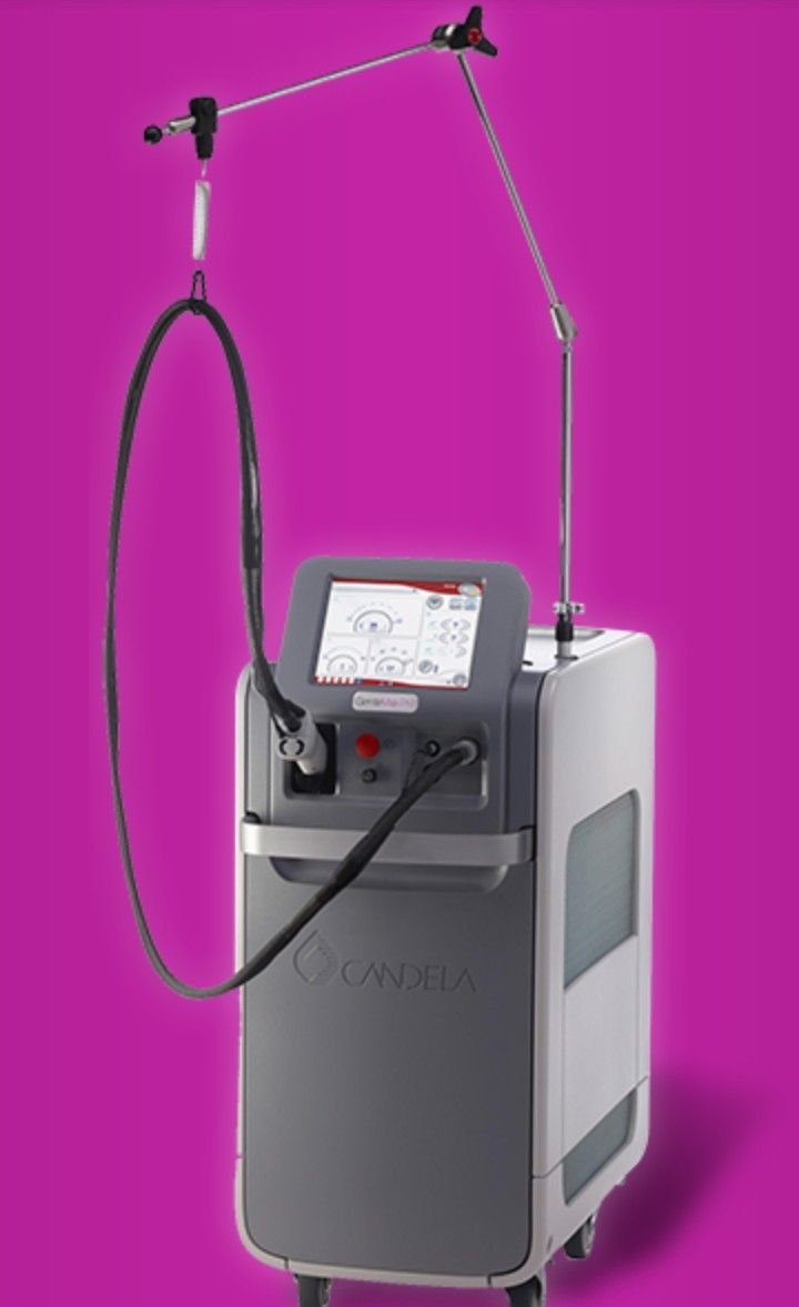 Candela Gentle Max Pro is the latest technology for laser