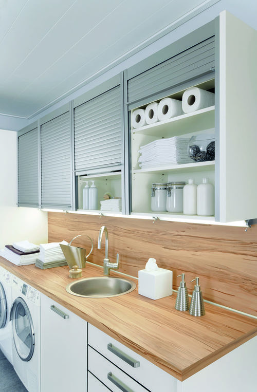 40 small laundry room ideas and designs renoguide on extraordinary small laundry room design and decorating ideas modest laundry space id=56643