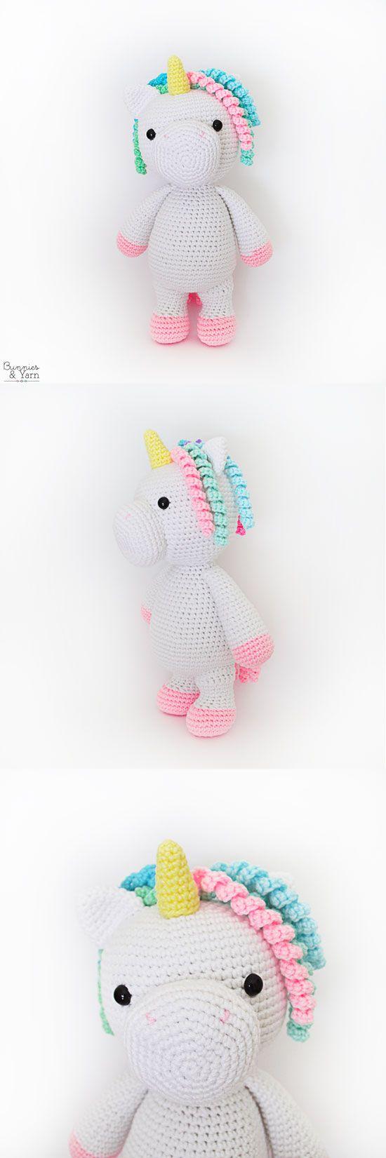 Unicornio patrón de ganchillo amigurumi   1651x550